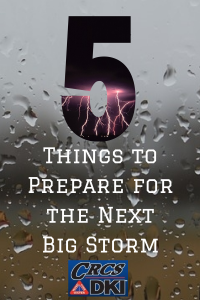 5 Things to Prepare for the Next Big Storm
